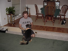 dogs_Julie & Me_08-05_01 (JPumpjack (sosuzguy)) Tags: dog julie
