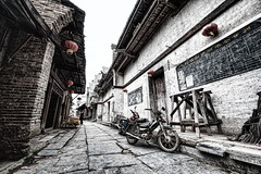 Daxu Ancient Town (rustler2x4) Tags: china wood old town ancient decay gritty historic rundown guangxi daxu 大圩古镇 daxuancienttown