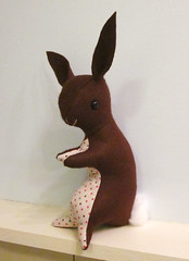 Bunny Softie Plush Toy 5 (sugar-cookie) Tags: brown cute rabbit bunny wool easter toy handmade chocolate craft plush softie vintagestyle