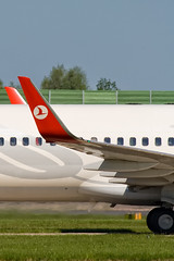 Turkish Airlines Winglet-EGCC-25 May 2013 (Martyn Gill - IMAGES...-150k-Views-THANK YOU) Tags: uk sunshine canon aircraft aviation bluesky aeroplane boeing winglet egcc turkishairlines 400d 7378f2 manchesterinternationalairport tcjgy martyngillimages2013