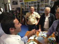 Jorge Moreira da Silva na Feira da Agricultura de Santarém