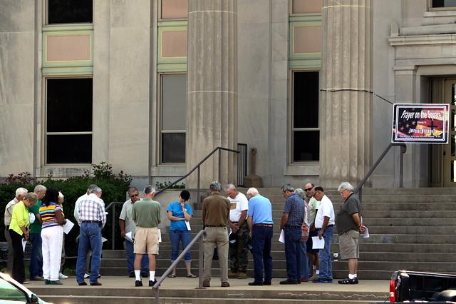 Prayer on the Square - Huntingdon, TN