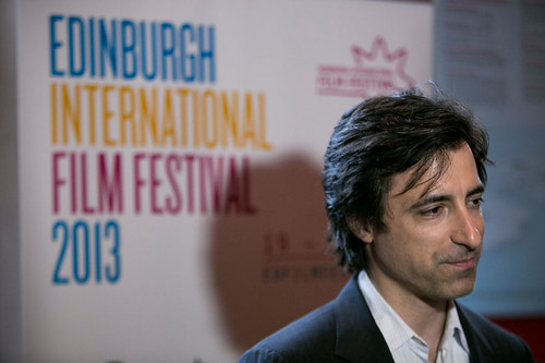 Director Noah Baumbach outside the Filmhouse before a screening of his film, Frances Ha
