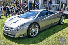 2002 Cadillac Cien Concept at Amelia Island 2013 (gswetsky) Tags: island cadillac amelia concept concours v12 cien delegance