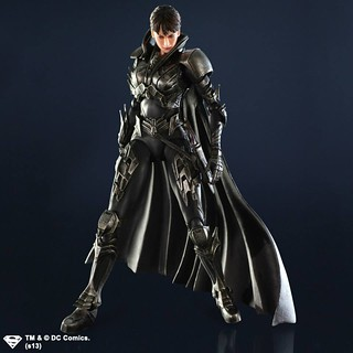 PLAY ARTS改 Man of Steel Faora 費歐拉