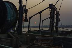 L1021791 (sswee38823) Tags: ocean leica sea sunrise ma boats dawn harbor pier boat fishing massachusetts newengland atlantic boating fleet fishingboats fishingboat seaport m9 newbedford statepier noctiluxm50mmf095asph