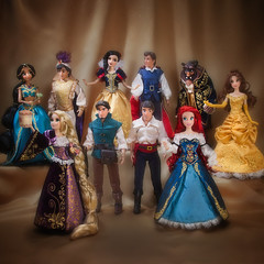Disney Designer Fairytale Couples (They Call Me Obsessed) Tags: new white snow ariel beauty store eric princess little designer jasmine couples prince disney fairy belle beast mermaid aladdin princes limited edition rapunzel tale princesses flynn tangled 2013