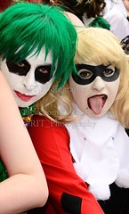 MCM Expo Manchester Comic Con 2013 (rit photography) Tags: uk england manchester photography dc costume nikon play expo cosplay central manga july dressup sigma fantasy batman joker fi rit 20th sci harleyquinn role mcm crossplay gmex 18200mm 2013 d7000 drharleenfrancesquinzel mcmbuzz