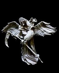 Grim Reaper (Neelesh K) Tags: origami grim reaper grimreaper origamigrimreaper neeleshk death