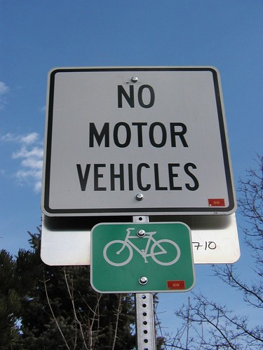 Photo - Bike Path Symbol