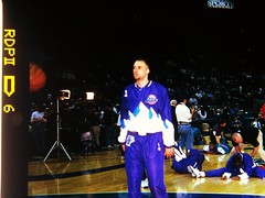 NBA Photos 1998 Utah Jazz (Philip Osborne Photography) Tags: fuji photos charlotte 1998 medium format coliseum nba hornets ga645z