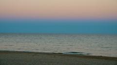 Evening Glow (imageClear) Tags: pink blue sunset sky lake seascape beach nature water beauty wisconsin landscape photography evening photo nikon flickr natural image lakemichigan shore sheboygan photostream landscapephotography 18200mm d7000 imageclear