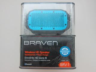 Braven IPX5 Waterproof Portable Bluetooth Speaker BRV-1