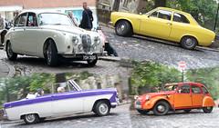Jaguar_Ford Escort_Ford Zodiac_Citroen_Priory Row_Coventry_Aug13