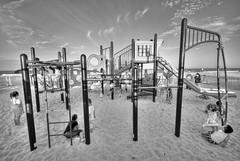Happy Playground (FedeSK8) Tags: beach playground newjersey nikon jerseyshore spiaggia hdr sigma1020mm photomatixhdr kidsbambini