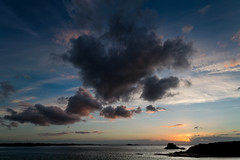 Hansdome cloud (Michel Couprie) Tags: sunset sea cloud mer france weather backlight night composition canon eos brittany cloudy dramatic sigma bretagne wideangle 7d michel 1020mm nuage unset saintmalo coucherdesoleil grandangle couprie