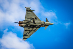 Eurofighter Typhoon (ryandavies1990) Tags: blue amazing skies cloudy airshow b17 planes duxford bomber lockheed boeing747 jumbojet aeroplanes silverstar aerobatics bearcat grumman dragonrapide b25mitchell duxfordairshow fightercollection extra330sc