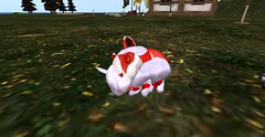 Pierina and Pierrot (Bea Shamrock) Tags: sleeping bunnies sl secondlife ozimals breedables