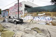 BESTO ANTES (Chasing Paint) Tags: car graffiti la losang