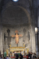 IMG_2904.jpg (She Curmudgeon) Tags: window cross crucifix column romanesque sanmartino