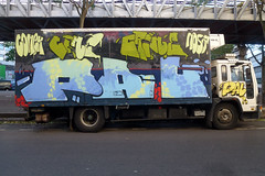 Face B (lepublicnme) Tags: paris france truck graffiti october pal tomek 2013 palcrew
