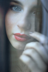 Eyes (digitalpsam) Tags: beautiful model mood gorgeous atmosphere muse sammatta