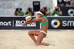 FIVB World Tour (V-Man's Court) Tags: world woman sexy feet ass beach female court championship toes tour dancers legs babes barefoot volleyball cleavage soles cameltoe fivb