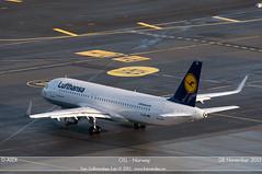 Lufthansa -  D-AIZX - A320-200 (Aviation & Maritime) Tags: airbus lh lufthansa osl gardermoen a320 airbus320 engm oslolufthavngardermoen a320200 osloairport osloairportgardermoen airbus320200 sharklets a320sl daizx airbus320sl