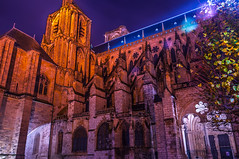 Ct sud - Cathdrale de Bourges - Cher (GComS) Tags: architecture bourges cathdrale eglise