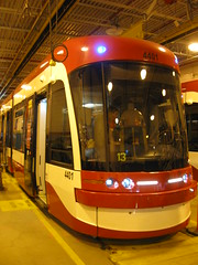 New TTC Streetcar (Sean_Marshall) Tags: toronto ttc tram streetcar bombardier flexity