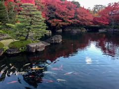 Koko-en Garden (cotaro70s) Tags: autumn trees fall leave leaves japan garden 日本 himeji colored 紅葉 japanse 好古園 兵庫県 庭園 姫路 姫路市