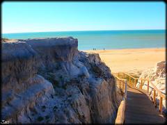Cuesta Maneli (Huelva) (sky_hlv) Tags: espaa beach andaluca spain huelva acantilado pinares matalascaas costadelaluz mazagn oceanoatlntico cuestamaneli