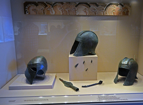 Archaic bronze armor from the area of Aiane
