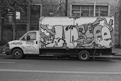 Horfé (mike ion) Tags: nyc newyorkcity ny newyork truck graffiti manhattan horfé horfe horphe horfee palcrew