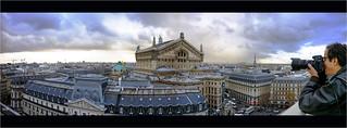 Pano v2 toits de  Paris