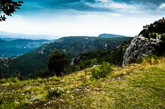 Moody sky over French Mountains (Breatnac Photography) Tags: mountain france green landscape photography nice moody postcard southoffrance breatnac