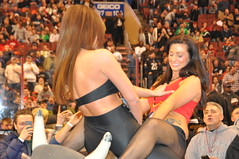 Sexy strippers fighting on a mechanical bull (hootervillefan) Tags: black hot sexy philadelphia club 22 cheerleaders eating vanity contest guard wing fishnet bowl strip babes pantyhose vg strippers wingbowl wingettes