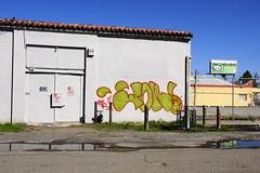 JON! (STILSAYN) Tags: california graffiti oakland bay jon east area 2014 jon5