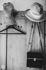 Summer house (Katja Pavlovic) Tags: summer bw white black hat vintage nikon oldhouse slovenia summerhouse vaskrka