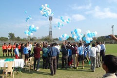 Let the games begin (camera indica) Tags: club stars football police ground east legends pitch kolkata bengal calcutta maidan veterans bagan mohun