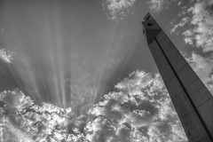 Shine on (heshaaam) Tags: bw bahrain university uob