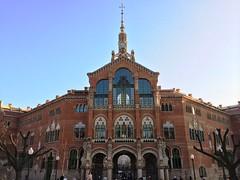 Recinte Modernista de l'Hospital de Sant Pau (32) (Daniel Garca Peris) Tags: barcelona art hospital arquitectura day clear catalunya visita santpau modernisme turisme domnechimuntaner