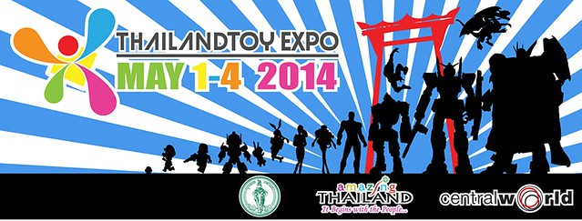 2014 Thailand Toy Expo【泰國玩具展】5 月 1~4 日 倒數計時