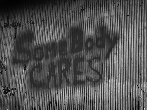 Somebody Cares by Gerry Dincher, on Flickr