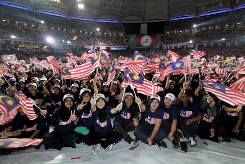Sambutan Kemerdekaan Ke-55 Santai Merdeka Raya 2012