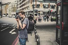 A photographic view... (Tasdik) Tags: london streetphotography fujifilm colourstreetphotography