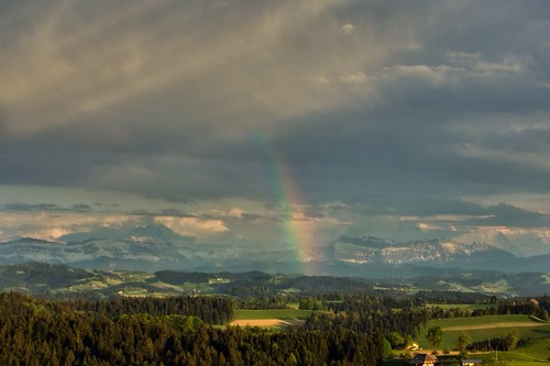 Rainbow over Emmental