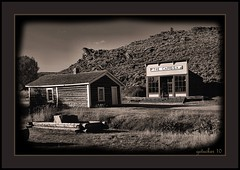 The Cassisa at South Pass City Wy (the Gallopping Geezer '4' million + views....) Tags: park bw white black abandoned museum canon blackwhite village display decay mining faded worn western restored ghosttown weathered wyoming oregontrail toned wildwest decayed geezer 2010 corel oldwest southpasscity westernmovement