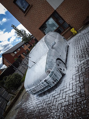 Spent a good sunday cleaning the Punto yesterday! (David Kedens) Tags: fiat edited adobe finepix fujifilm sporting fujifilmfinepix adobelightroom snowfoam puntosporting amdetails mk1punto