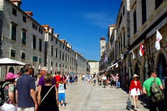 Dubrovnik (Croatie) (PierreG_09) Tags: mer architecture croatia hr rue dubrovnik ville croatie hrvatska adriatique dalmatie